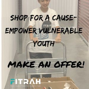 MAKE A REASONABLE OFFER! Shop for a cause.